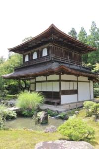 京都府の銀閣寺
