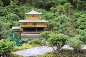 京都府の金閣寺(?)