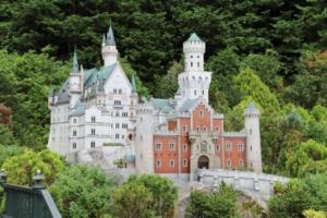 ドイツのノイシュバンシュタイン城(?)