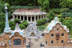 スペインのグエル公園(?)