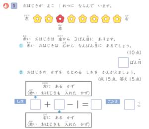 グレードアップ問題集 小学1年 算数 文章題